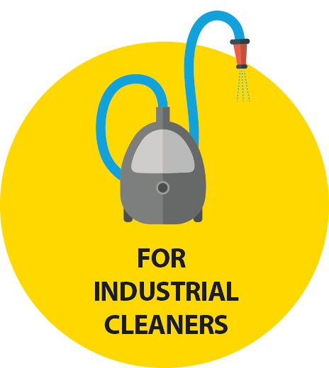 for industrial cleaners