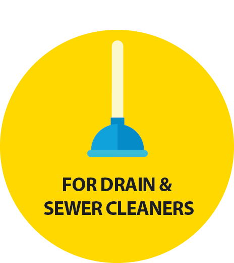 for drain&sewercleaners